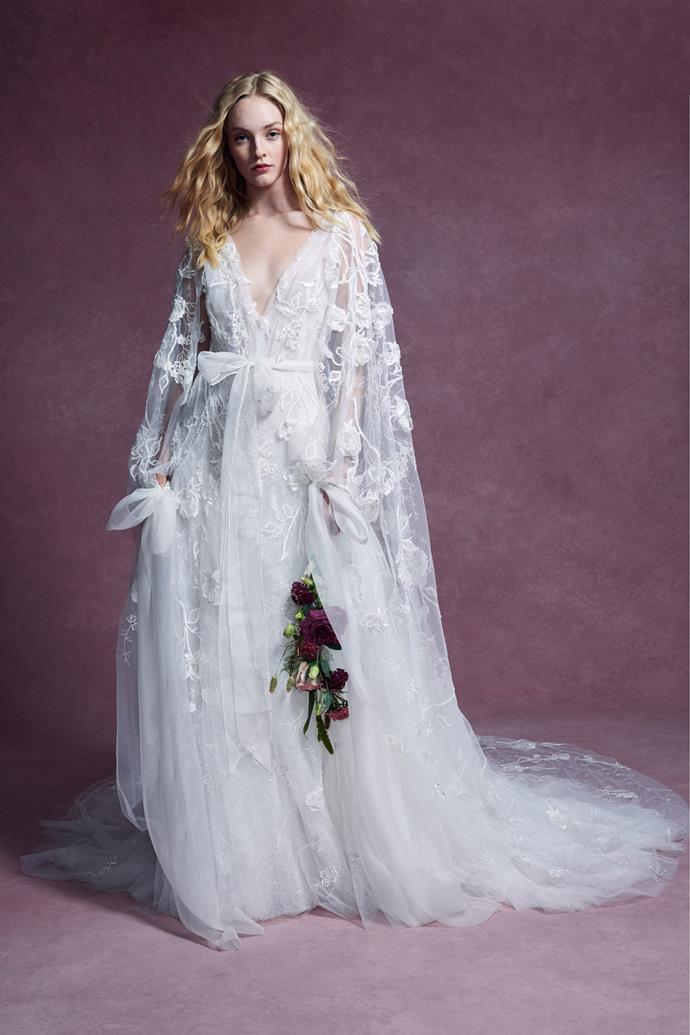 """**BEST BRIDAL GOWN COLLECTION**<Br><br> """"This collection is so classic and beautiful. The details in each of the gowns is incredible.""""<Br><Br> Marchesa Bridal autumn 2020."""
