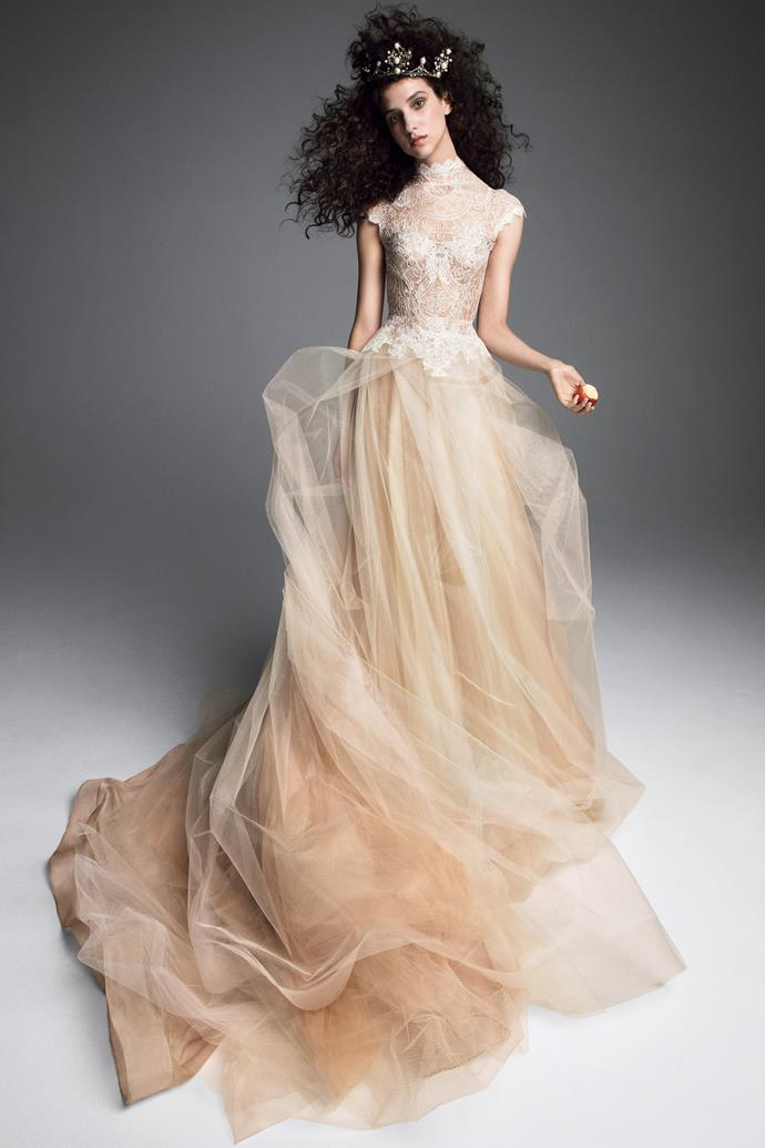 """**BEST BRIDAL GOWN**<br><Br> """"This dress is whimsical and light—Vera Wang always pushes the boundaries.""""<br><Br> Vera Wang autumn 2019."""