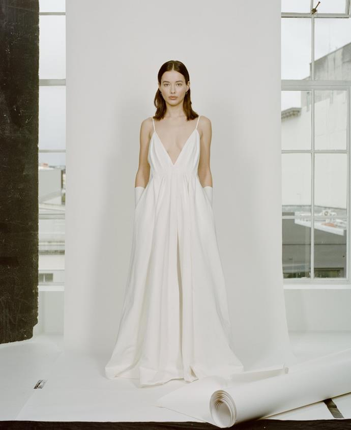 """**BEST BRIDAL NEW TALENT**<br><br> """"Modern and feminine. This collection is fashion forward, easy and low key.""""<br><Br> Paris Georgia, New Zealand."""