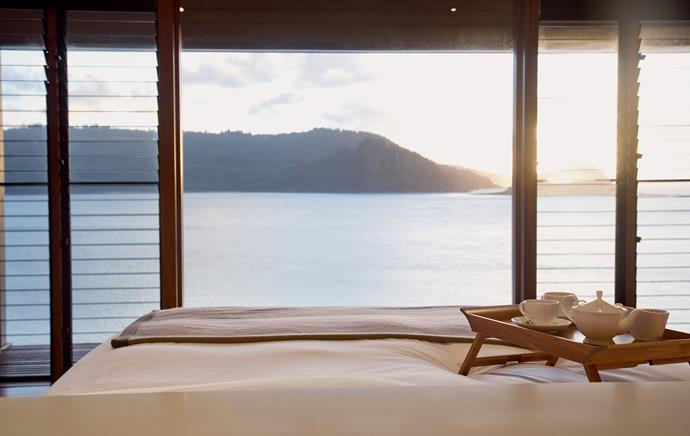 """**BEST HONEYMOON RESORT**<br><br> """"This resort is composed of private villas on the edge of the water on Hamilton Island. The resort is quintessentially Australian in architecture. The service is immaculate. It is the ultimate place for tranquility and relaxation.""""<br><Br> Qualia, Australia."""