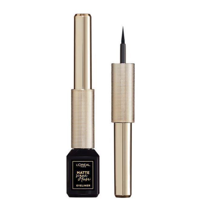 "Matte Signature Liner by L'Oréal Paris, $17.39 at [Chemist Warehouse](https://www.chemistwarehouse.com.au/buy/93444/l-oreal-matte-signature-liner-01-ink|target=""_blank""