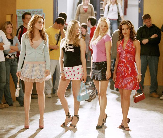 "***Mean Girls*** **(1/9/2020)**<br><br>  Teenager Cady Heron (Lindsay Lohan) was educated in Africa by her scientist parents. When her family moves to the suburbs of Illinois, Cady finally gets to experience public school and gets a quick primer on the cruel, tacit laws of popularity that divide her fellow students into tightly-knit cliques. She unwittingly finds herself in the good graces of an elite group of cool students dubbed ""the Plastics,"" but Cady soon realises how her shallow group of new friends earned this nickname."