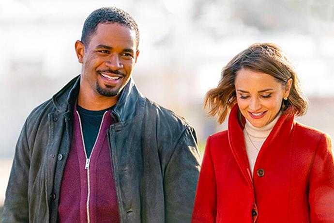 "***Love, Guaranteed*** **(3/9/2020)**<br><br>  To save her small law firm, earnest lawyer Susan (Rachael Leigh Cook) takes a high-paying case from Nick (Damon Wayans Jr.), a charming new client who wants to sue a dating website called  [*Love, Guaranteed*](https://www.marieclaire.com.au/netflix-love-guaranteed-film|target=""_blank"") that, you guessed it, guarantees love. But as the case heats up, so do Susan and Nick's feelings for each other."