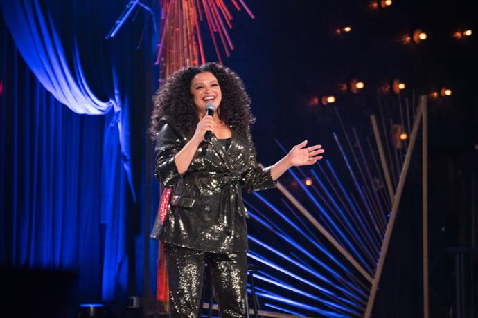 ***Michelle Buteau: Welcome to Buteaupia*** **(29/9/2020)**<br><br>  Michelle Buteau, the scene-stealing comedic queen of Netflix, delivers the night out we all need right now in her uproariously funny new special *Michelle Buteau: Welcome to Buteaupia*. Letting loose with a goblet of frosé in hand, she delivers a dynamic hour of comedy that delves into parenthood, cultural difference, and the overlooked value of short men. Her refreshingly honest approach reminds us to appreciate government workers named Otis and, most importantly, that character counts.