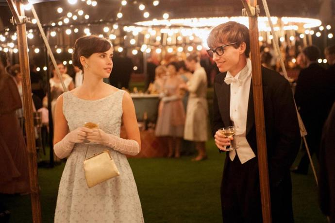 ***The Theory of Everything*** **(4/9/2020)**<br><br>  In the 1960s, Cambridge University student and future physicist Stephen Hawking (Eddie Redmayne) falls in love with fellow collegian Jane Wilde (Felicity Jones). At 21, Hawking learns that he has motor neuron disease. Despite this—and with Jane at his side—he begins an ambitious study of time, of which he has very little left, according to his doctor. He and Jane defy terrible odds and break new ground in the fields of medicine and science, achieving more than either could hope to imagine.