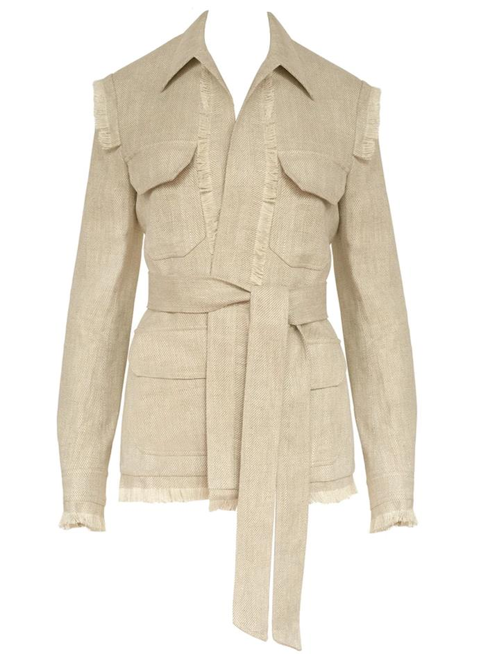 "'Seize The Day' Jacket by Maggie Marilyn, $865 at [The Undone](https://www.theundone.com/collections/jackets/products/sieze-the-day-jacket|target=""_blank""