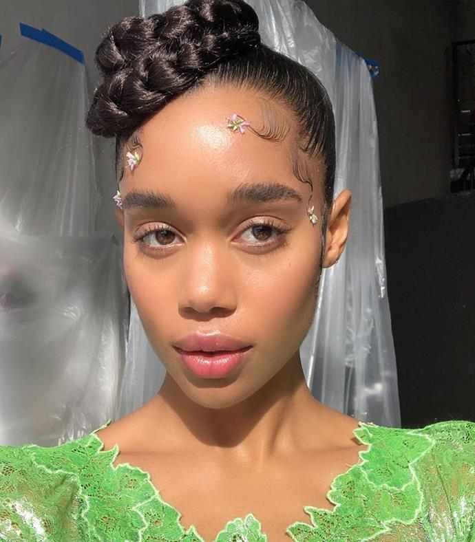 "We've raved about her [floral-adorned baby hairs](https://www.elle.com.au/beauty/celebrity-baby-hairs-23782|target=""_blank""