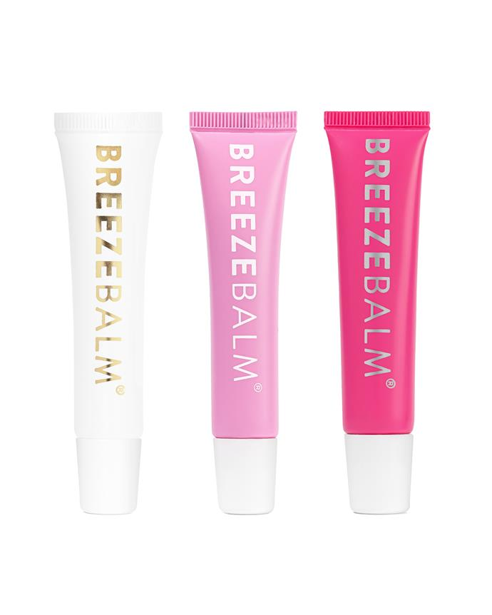 "**THE BEST LIP BALM SET**<br><br>  Created with a tried-and-tested 70-year-old formula featuring 100% pure lanolin and beeswax, this gorgeous set of unscented, pink lemonade and strawberry lip balms are perfect for those like to mix it up. The second best thing? The packaging is made from sugar cane and recycled plastic. Good for the lips, good for the environment!<br><br>  *Sweet Treat Lip Balm Trio by Breeze Balm, $55 at [Breeze Balm](https://fave.co/3i6K3oo|target=""_blank""