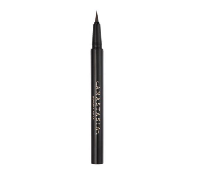 """Micro-Stroking Detailing Brow Pen by Anastasia Beverly Hills, $41 at [MECCA](https://www.mecca.com.au/anastasia-beverly-hills/micro-stroking-detailing-brow-pen/V-814441.html#q=brow%2Bpen&start=1