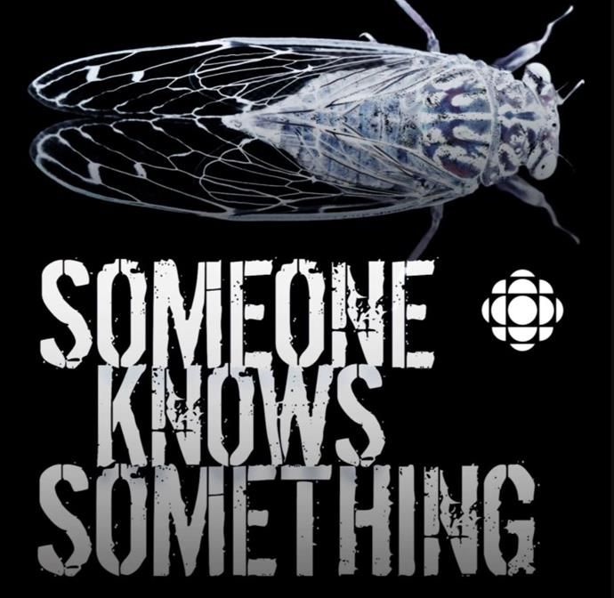 ***Someone Knows Something*** <br><br> This Candian true-crime podcast dives deep into a different cold case each season. Over a number of episodes we hear not only about the crime and subsequent investigation, but about the very real people behind these tragically unsolved mysteries.  <br><br> Created and narrated by award-winning filmmaker and writer David Ridgen, the podcast aims to shed light on these forgotten tragedies.  <br><br> The first season launched in 2016, and season six began in May 2020.