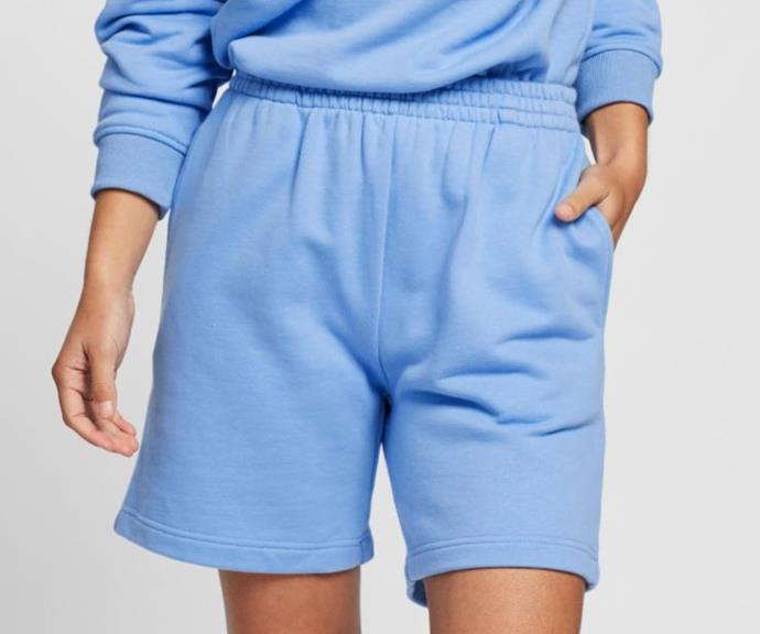 """Kick Back Sweat Short by Dazie, $49.99 at [The Iconic](https://www.theiconic.com.au/kick-back-sweat-shorts-1096356.html