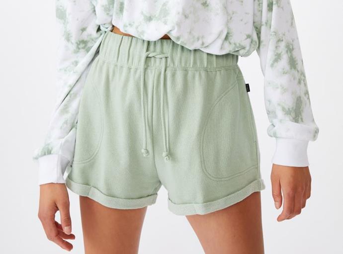 "Summer Fleece Short, $24.99 by [Cotton On Body](https://cottonon.com/AU/summer-fleece-short/9355507616546.html?gclid=CjwKCAjwtNf6BRAwEiwAkt6UQkzJ3PcHqAEfGMzP8aC9QzDNRnwKAEP9wqr3HbrxmL8fXQWAExAfmhoCAKIQAvD_BwE|target=""_blank""|rel=""nofollow"")."