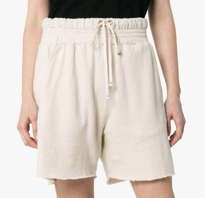 "Yacht Cotton Shorts by Les Tien, $314 at [Farfetch](https://www.farfetch.com/au/shopping/women/les-tien-yacht-cotton-shorts-item-14499823.aspx?storeid=9359|target=""_blank""|rel=""nofollow"")."