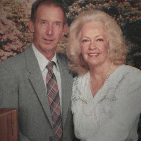 DON LEWIS AND GLADYS CROSS.