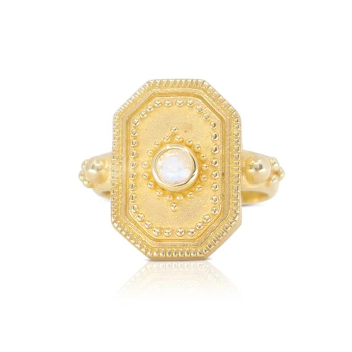 """The 'Raya' Ring in Gold, $129 at [Toni May](https://www.tonimay.com.au/collections/rings