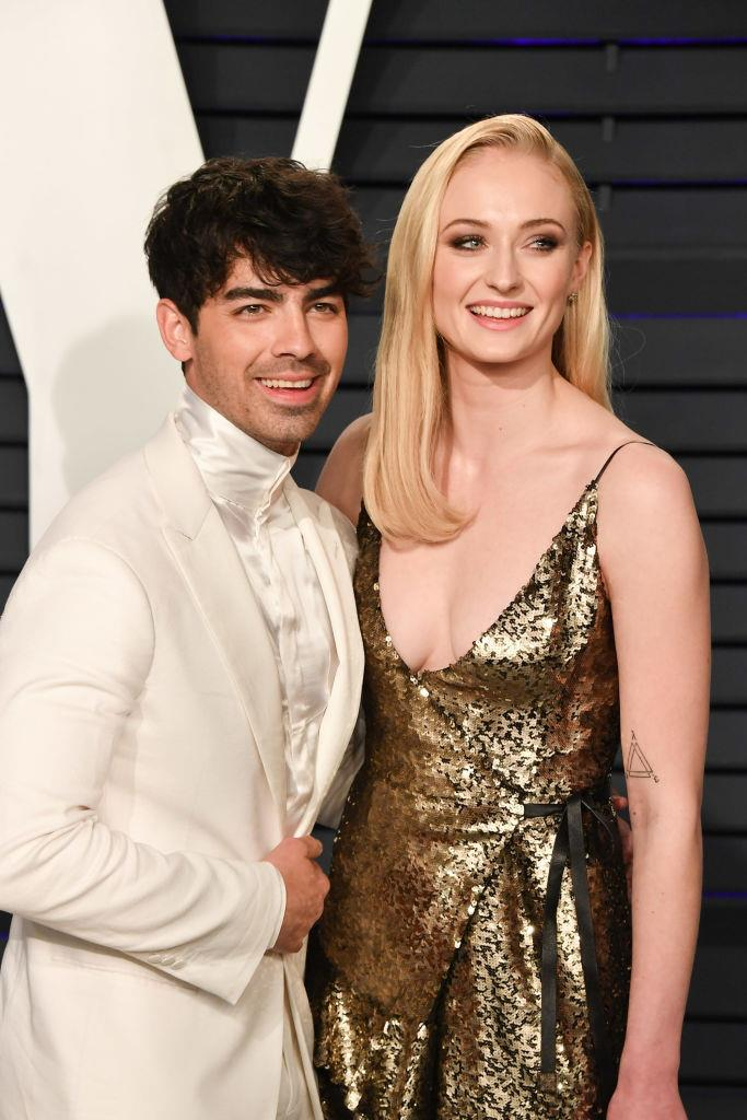 """**Sophie Turner and Joe Jonas** <br><br> Following the 2019 Billboard Music Awards in Nevada which they both attended, Turner and Jonas nipped off to a Las Vegas wedding chapel and tied the knot. <br><br> Fans caught wind when musician Diplo infamously [began posting Instagram Stories](https://www.elle.com.au/celebrity/sophie-turner-joe-jonas-married-20388
