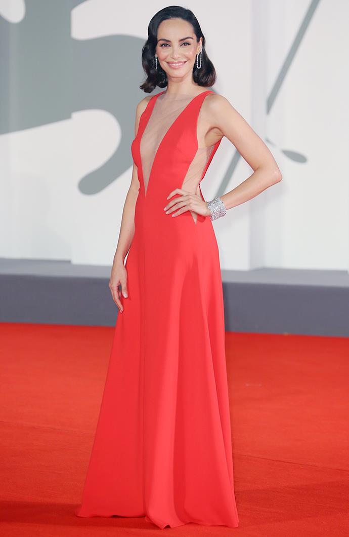 Elena Cucci in Stella McCartney.