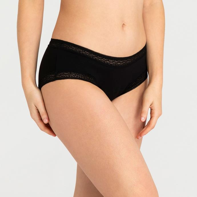 "Sensual Boyleg for Light-Moderate, $26.50 at [Modibodi](https://fave.co/3bV3azw|target=""_blank""
