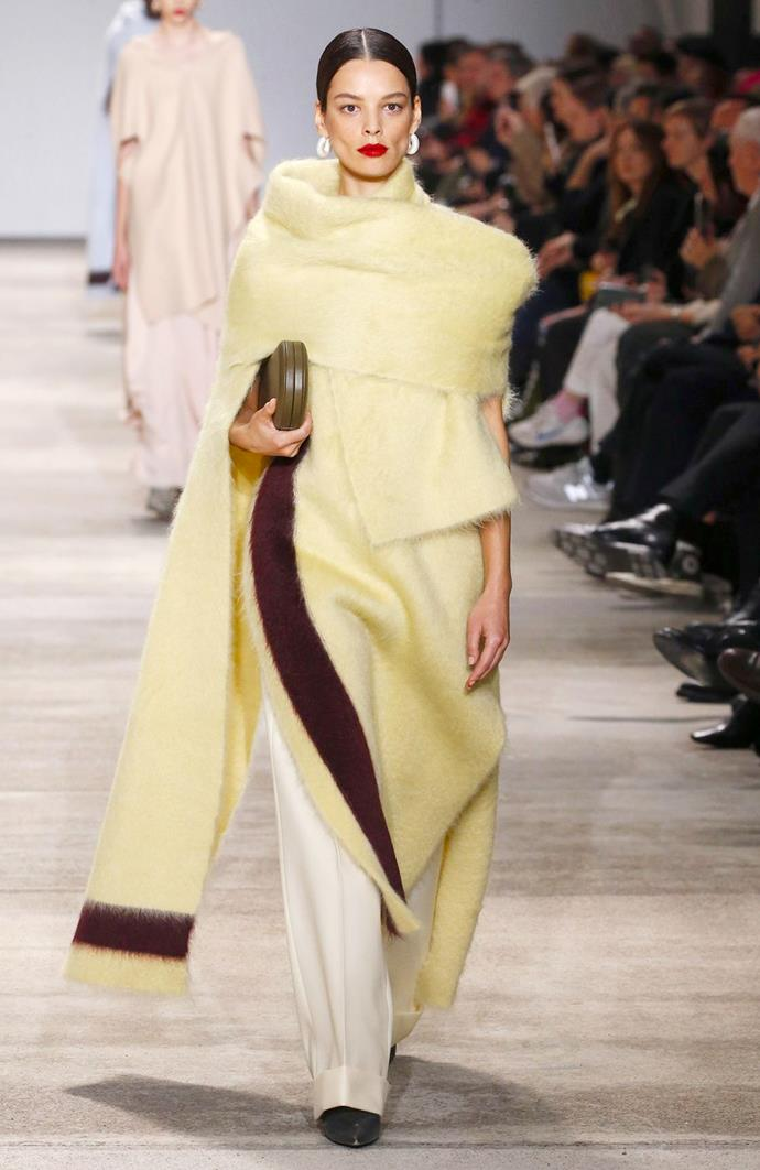 Jil Sander at Milan Fashion Week Fall/Winter 2020-2021.