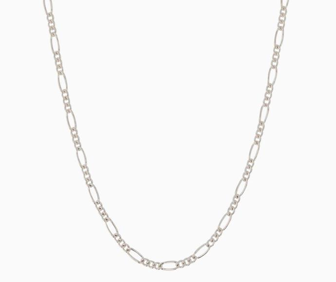 "Chain No.3, $175 by [Sarah & Sebastian](https://www.sarahandsebastian.com/products/chain-no-3-silver|target=""_blank""