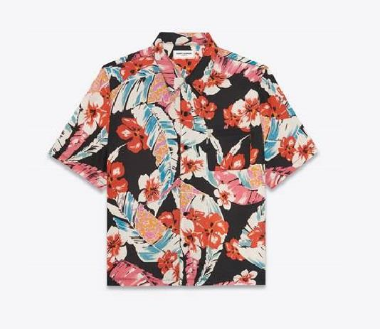 "Hawaiian Shirt, $1,120 by [Saint Laurent](https://www.ysl.com/au/saint-laurent/shop-product/unisex/the_hawaiian_shirt_section|target=""_blank""|rel=""nofollow"")."