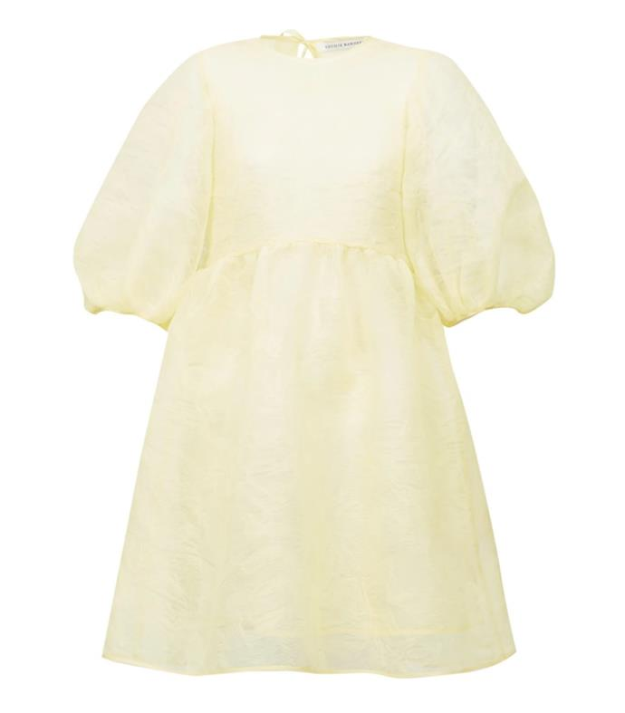 "Dress by Cecilie Bahnsen, $1,841 at [MatchesFashion](https://www.matchesfashion.com/au/products/Cecilie-Bahnsen-Mabel-puff-sleeve-laddered-organza-dress--1371032|target=""_blank""