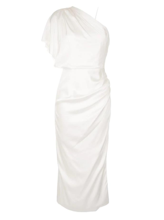 "Dress by Manning Cartell, $499 at [Farfetch](https://www.farfetch.com/au/shopping/women/manning-cartell-draped-one-shoulder-dress-item-15457360.aspx?storeid=9951|target=""_blank""
