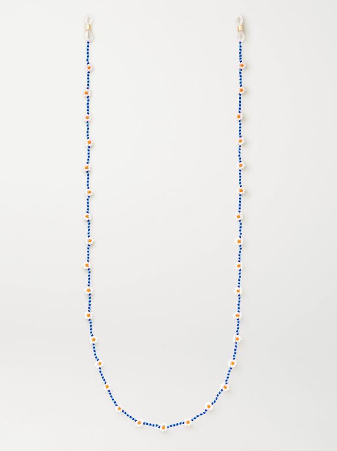 "Daisy Beaded Chain by Roxanne Assoulin, $115.40 at [Net-A-Porter](https://www.net-a-porter.com/en-au/shop/product/roxanne-assoulin/daisy-beaded-sunglasses-chain/1258961|target=""_blank""|rel=""nofollow"")."