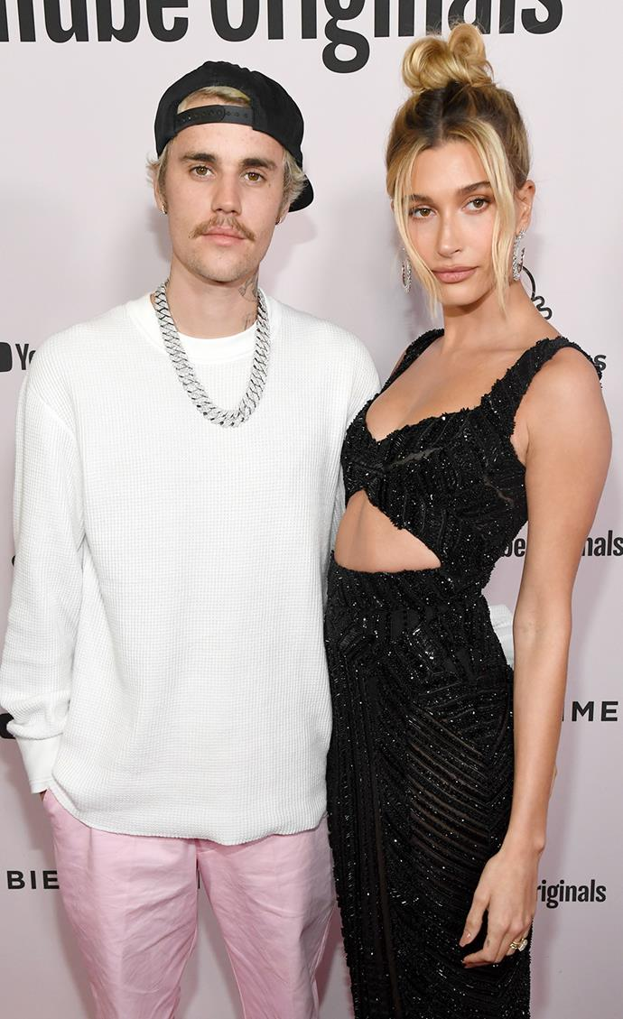 "**Justin and Hailey Bieber** <br><br> Justin and Hailey Bieber's relationship has certainly had it's ups-and-downs. First meeting back in 2009, the pair sparked dating rumours in 2014 but never went official until late 2015. However, the couple split up in July 2016, and proceeding to have no contact with each other for two years while Justin was dating Selena Gomez. Eventually, the couple rekindled their romance and were [married in 2018](https://www.elle.com.au/celebrity/justin-bieber-hailey-baldwin-married-again-22364|target=""_blank""