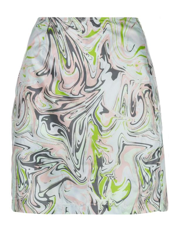 "'[Call Me Marble Print Mini Skirt](https://www.farfetch.com/au/shopping/women/maisie-wilen-call-me-marble-print-mini-skirt-item-15456734.aspx?storeid=10161|target=""_blank""|rel=""nofollow"")' by Maisie Wilen, $958 at [Farfetch](https://www.farfetch.com/au/shopping/women/items.aspx|target=""_blank""|rel=""nofollow"")."
