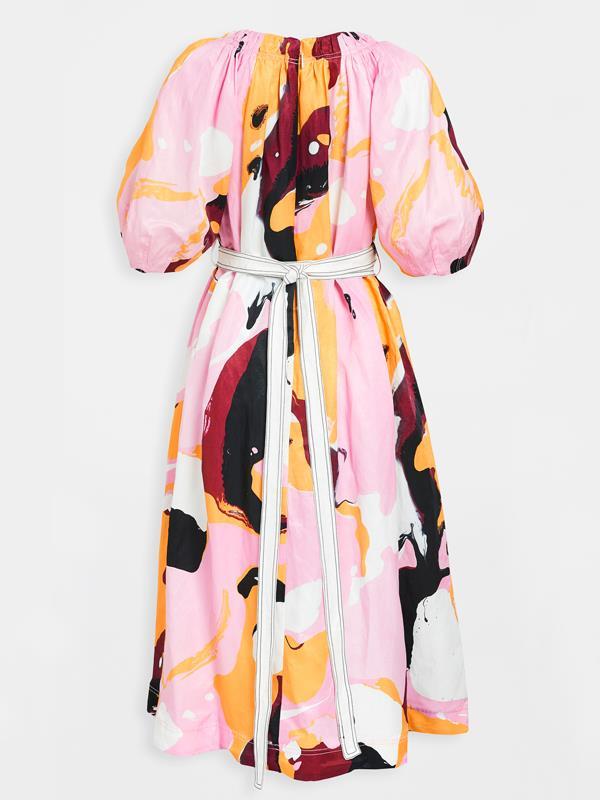"'[Psychedelia Midi Smock Dress](https://ajeworld.com.au/products/psychedelia-midi-smock-dress-acid?variant=31690179706946&currency=AUD&utm_source=google&utm_medium=cpc&utm_campaign=google+shopping&gclid=Cj0KCQjwnqH7BRDdARIsACTSAdvm3zM4LlL3IIen-uVoA6mU6Tsa_OgtwWodmCC5LIktXOe0QRP-M_kaAlsCEALw_wcB|target=""_blank""|rel=""nofollow"")', $375 at [Aje](https://ajeworld.com.au/|target=""_blank""|rel=""nofollow"")."