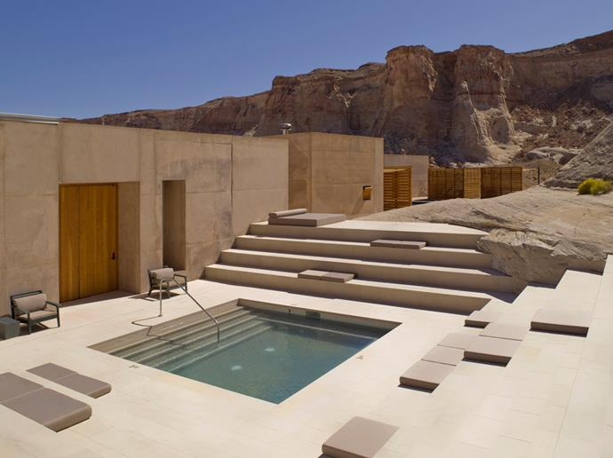 ***Best Honeymoon Resort: Amangiri***<br><br> Located amongst 600 acres of wilderness and isolation, this world-class retreat and spa is a piece of modern art. Surrounded by endless desert, the Amangiri gives guests the feeling of being cut off from the rest of the world.  Meanwhile, inside guests are treated to an AMAN Spa, with saunas, steam rooms, and exclusive outdoor water pavilions spanning over 2,000 square meters. Suites are decorated in earthy tones to match the surrounding sandy Utah landscape, and private terraces and pools give couples their much-needed solitude and escape.