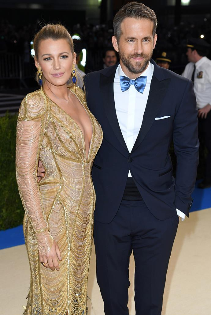 **Blake Lively, 33, and Ryan Reynolds, 44** <br> Age difference: 11 years