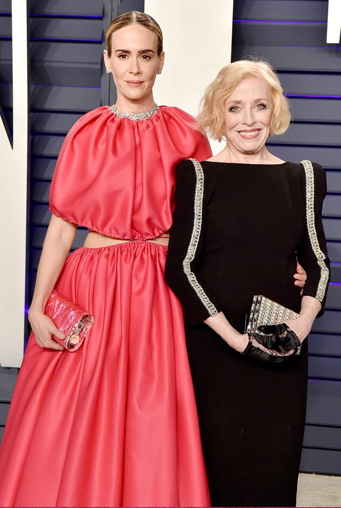 **Sarah Paulson, 45, and Holland Taylor, 77** <br> Age difference: 32 years