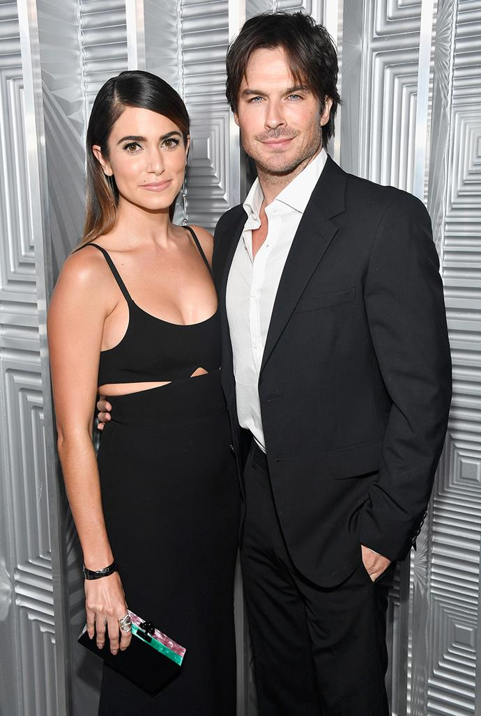**Ian Sommerhalder, 42, and Nikki Reed, 32** <br> Age difference: 10 years