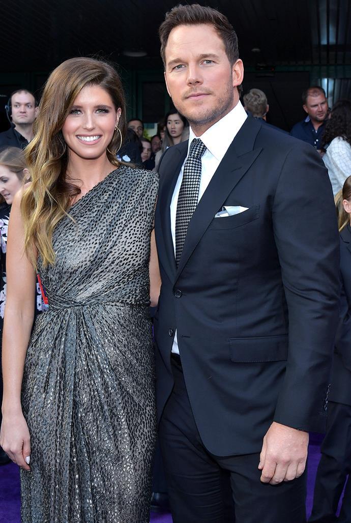 **Katherine Schwarzenegger, 31, and Chris Pratt, 41** <br> Age Difference: 10 years