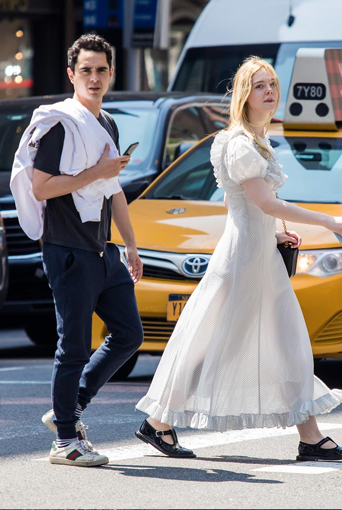 **Elle Fanning, 22, and Max Minghella, 35** <br> Age Difference: 12 years