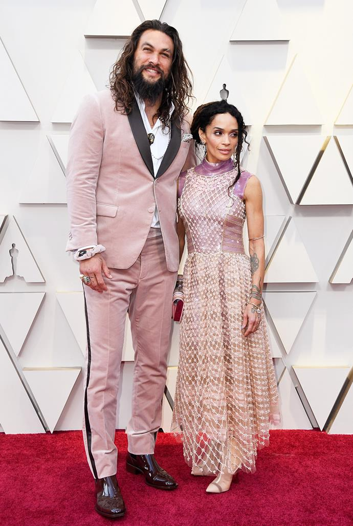 **Jason Momoa, 41, and Lisa Bonet, 52** <br> Age Difference: 11 years