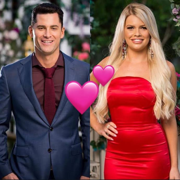 """**Jamie Doran and Kaitlyn Hoppe**<br><br>  Well, here's a couple we didn't see coming! *Bachelorette* and *Bachelor In Paradise* alum Jamie Doran reportedly dated none other than Kaitlyn Hoppe from Locky Gilbert's season of *The Bachelor*, as revealed by everyone's favourite reality TV tea-spiller, [*So Dramatic!* podcast](https://open.spotify.com/episode/1avd1LOrshW9ChbbheyLqr?si=3sumseBMQP28LaoT15zfQA