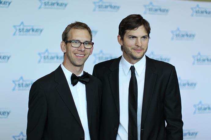 <p><strong>Ashton and Michael Kutcher</strong> (left)</p> <p>  While it's easy to recognise Ashton Kutcher, many aren't aware that he actually has a twin brother called Michael. Growing up, Michael battled with cerebral palsy and a heart transplant at 13-yeards-old but now, he works at a sales company and is a motivational speaker for other with disabilities.