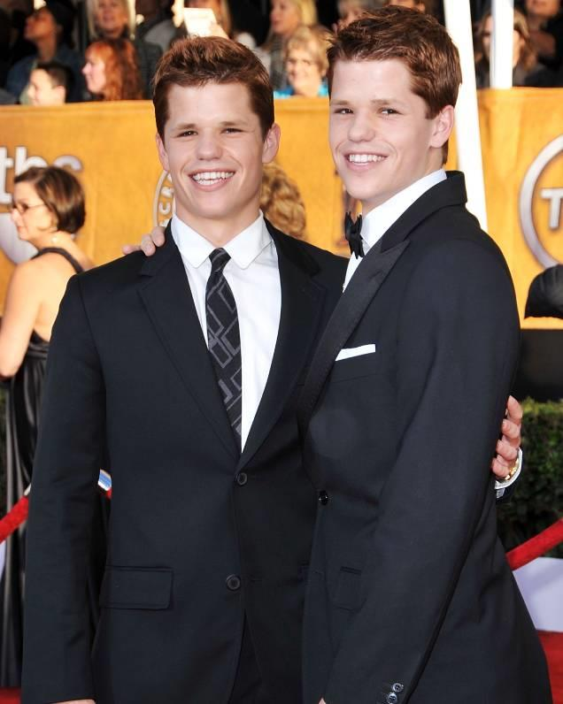 **Charles and Max Carver** <br> Calling all *Teen Wolf* fans! Those who watched the show may recognise Charlie Carver as Ethan Steiner, but many may not know that he has an identical twin. The pair have previously appeared as Porter and Preston Scavo in *Desperate Housewives*, and most recently, in *The Leftovers*.