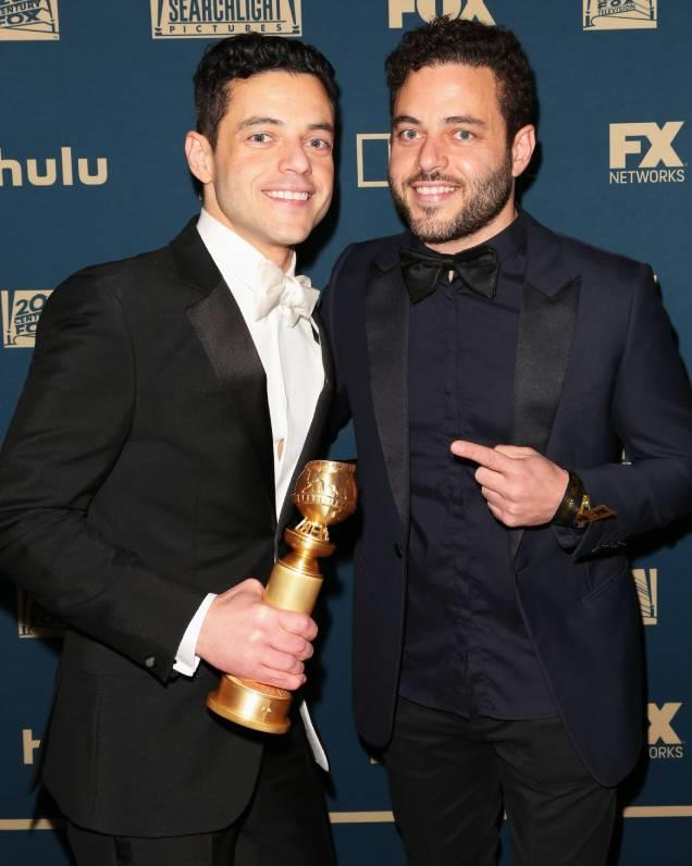 ***Rami and Sami Malek*** <br> *Bohemian Rhapsody* star Rami Malek has an identical twin brother called Sami, who works as a school teacher. Many people weren't aware that Malek is actually a twin—that is, until his brother began accompanying him to awards shows in 2019.