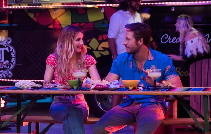 ***Holidate* (28/10/20)** <br><br> Starring Emma Roberts and Australia's own Luke Bracey, this rom-com follows an anti-holidays pair of strangers who agree to be each other's 'holidate' to every festive occasion throughout the year. However, as a year of celebrations comes to an end, they find that holidays aren't so bad when with the right company.