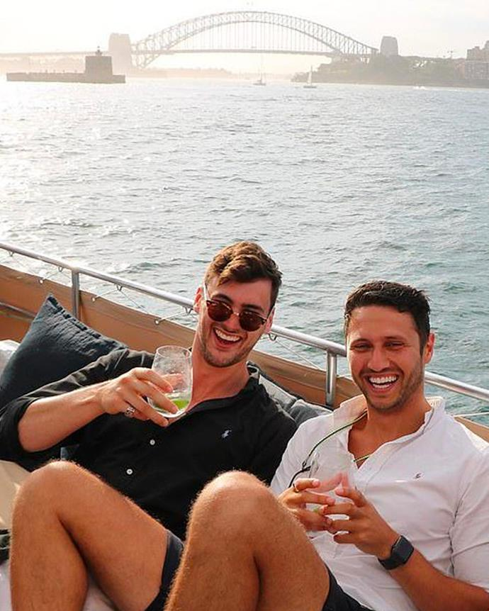 "**Damien Stone** (right) <br><br>  A property valuer from Melbourne.<br><br>  *Instagram: [@damien_stone](https://www.instagram.com/damien_stone/|target=""_blank""