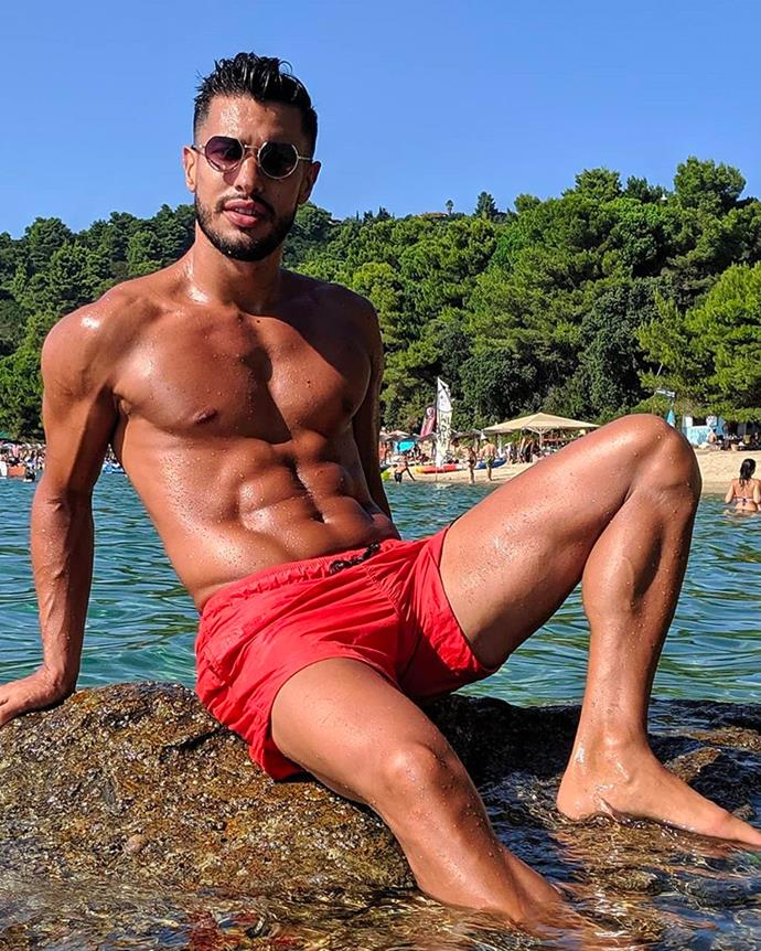 "**Rudy El Kholti**<br><br>  A Mister Italy winner and fitness model from Sydney.<br><br>  *Instagram: [@rudyelkholti](https://www.instagram.com/rudyelkholti/|target=""_blank""