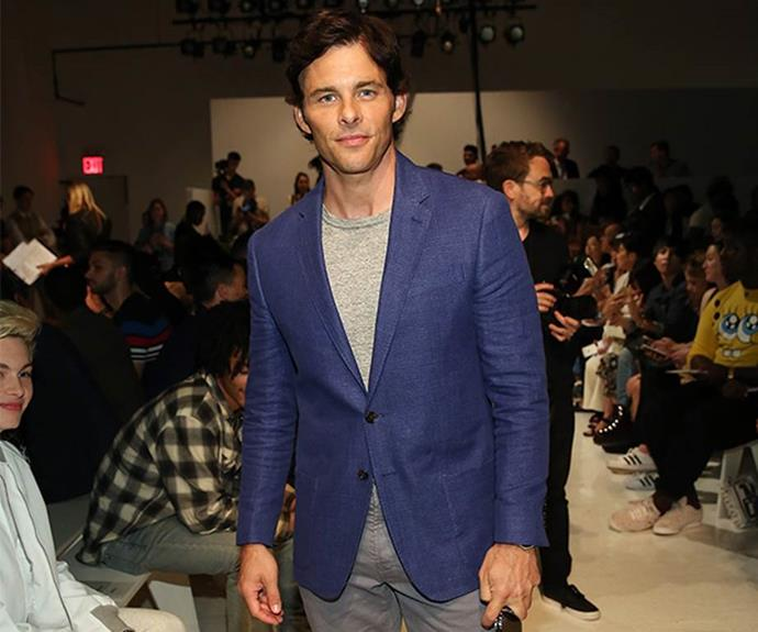 **James Marsden: April 2015**<br><br> Waterhouse and US actor James Marsden went on one dinner date in Los Angeles, but neither ever confirmed they were dating.