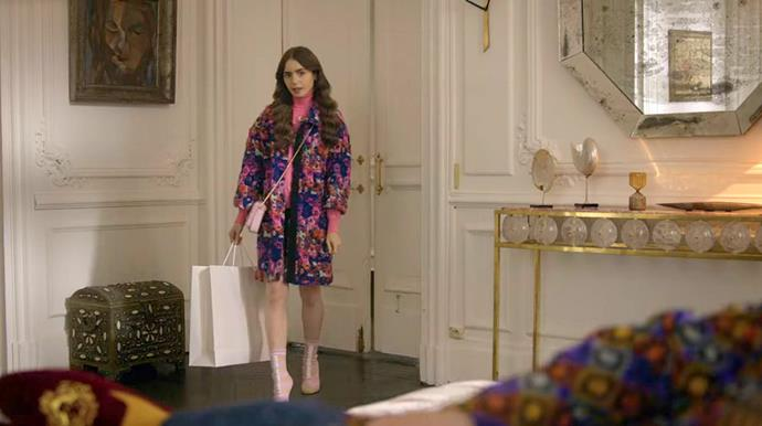 **15. Emily's MSGM Coat Moment**<br><br>  Honestly, it's fun to see people wear colour. We're kind of into this printed coat, which, for a change, isn't being attacked with a printed bucket hat and a printed dress and a printed... you get the idea.<br><br>  *Le mood:* Reviving a famed French fashion house, just casually.