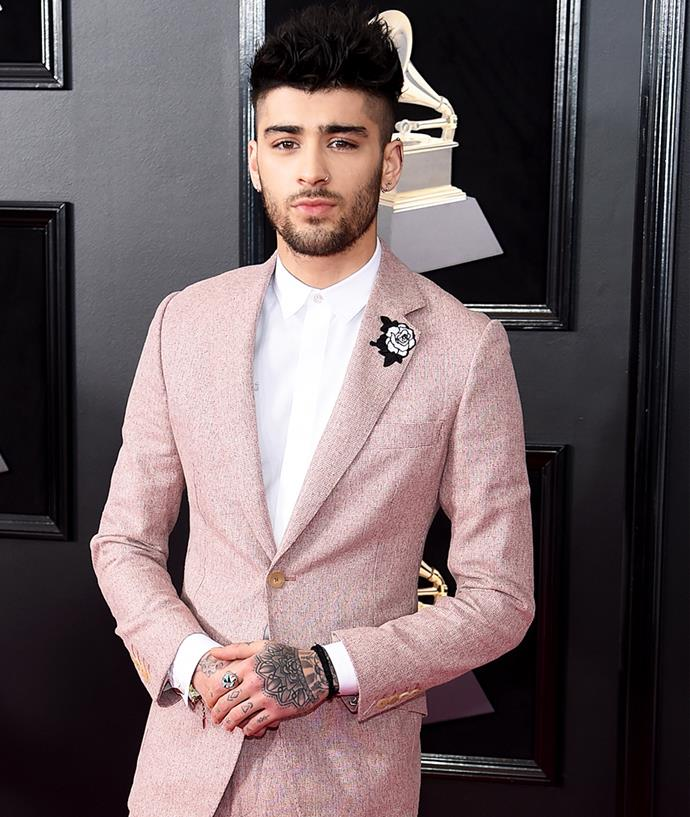 "**Zayn Malik** <br><br>Zayn Malik decided to ditch his Twitter back in 2012, saying that ""the reason I don't tweet as much as I used to is because I'm sick of all of the useless opinions and hate that I get daily. Goodbye Twitter."" His decision didn't last long, with the musician reactivating his account just two days later."