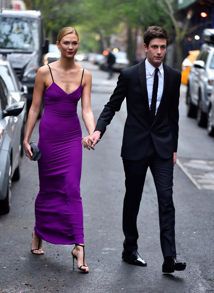 Karlie Kloss and her husband, Joshua Kushner.