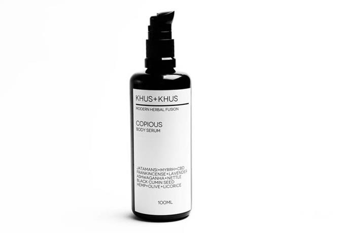"""***Khus + Khus Copious Body Serum, starts at AUD $63 to $111, from [Khus + Khus](https://fave.co/313Fu85